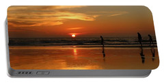 Family Reflections At Sunset - 4 Portable Battery Charger
