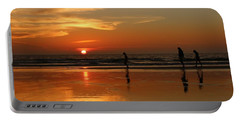 Family Reflections At Sunset - 5 Portable Battery Charger