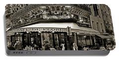 Famous Cafe De Flore - Paris Portable Battery Charger