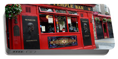 Famous Temple Bar In Dublin Portable Battery Charger