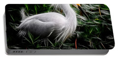Fancy Feathers Portable Battery Charger