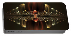 Portable Battery Charger featuring the digital art Fantastic Skyline by Gabiw Art