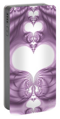 Fantasy Hearts Portable Battery Charger