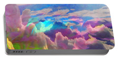 Abstract Fantasy Sky Portable Battery Charger