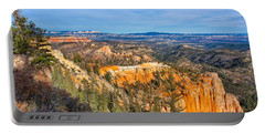 Portable Battery Charger featuring the photograph Farview Point Tableau by John M Bailey