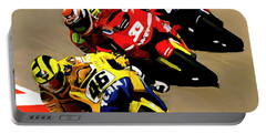 Faster  Valentino Rossi Nicky Hayden Portable Battery Charger