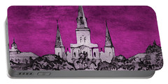 Fat Tuesday Eve Portable Battery Charger