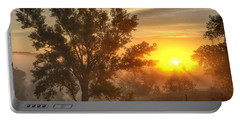 Father's Day Sunrise Portable Battery Charger