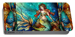 The Serene Siren Triptych Portable Battery Charger