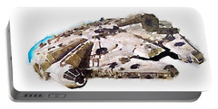 Millenium Falcon Portable Battery Charger