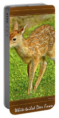 Fawn Poster Image Portable Battery Charger