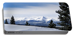 February Wind Portable Battery Charger by Jeremy Rhoades