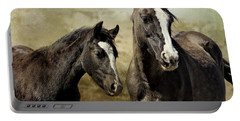 Feldspar And Ohanzee  - Pryor Mustangs Portable Battery Charger