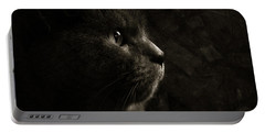 Feline Perfection Portable Battery Charger by Laura Melis