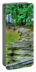 Fence Line Portable Battery Charger by Dan Stone