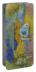 Feng Shui Parakeets Portable Battery Charger