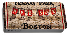 Fenway Park Boston Redsox Sign Portable Battery Charger