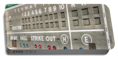 Fenway Park Scoreboard Portable Battery Charger