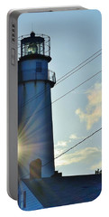 Portable Battery Charger featuring the photograph Fenwick Island Lighthouse - Delaware by Kim Bemis