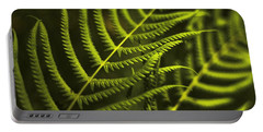 Portable Battery Charger featuring the photograph Fern by Bradley R Youngberg