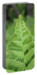Fern Portable Battery Charger by Tiffany Erdman