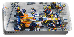 Fernando Alonso Portable Battery Charger