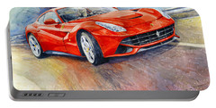 2014 Ferrari F12 Berlinetta  Portable Battery Charger