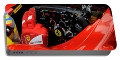 Ferrari Formula 1 Cockpit Portable Battery Charger