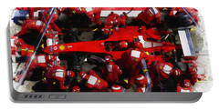 Ferrari Make Changes In Pit Lane Portable Battery Charger
