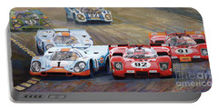Ferrari Vs Porsche 1970 Watkins Glen 6 Hours Portable Battery Charger