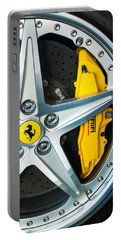 Ferrari Wheel 3 Portable Battery Charger by Jill Reger
