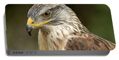 Portable Battery Charger featuring the photograph Ferruginous Hawk by Doug Herr