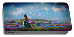 Field Of Flowers... Portable Battery Charger