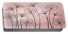 Field Of Flowers Within 3 Portable Battery Charger