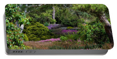 Portable Battery Charger featuring the photograph Fields Of Heather by Jordan Blackstone