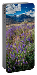 Fields Of Lupine Portable Battery Charger