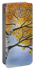 Fiery Aspen Portable Battery Charger