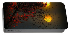 Fiery Fall... Portable Battery Charger