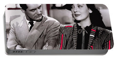 Film Homage Cary Grant Rosalind Russell Howard Hawks His Girl Friday 1940-2008 Portable Battery Charger