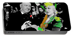 Film Homage W.c. Fields Mae West My Little Chickadee 1940-2011 Publicity Photo Portable Battery Charger