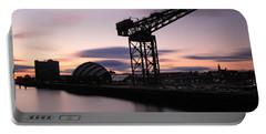 Finnieston Crane Glasgow  Portable Battery Charger