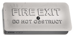 Fire Exit Sign Portable Battery Charger