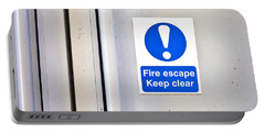 Fire Exit Portable Battery Charger