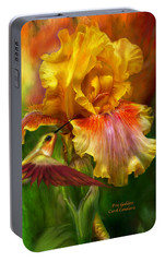 Fire Goddess Portable Battery Charger by Carol Cavalaris