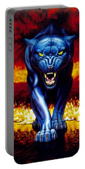 Fire Panther Portable Battery Charger by MGL Studio - Chris Hiett