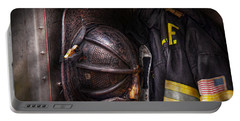 Fireman - Worn And Used Portable Battery Charger