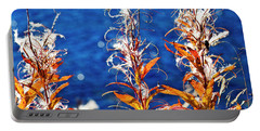 Fireweed Flower Portable Battery Charger