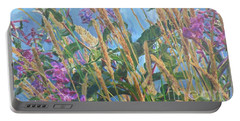 Portable Battery Charger featuring the photograph Fireweed Number Six by Brian Boyle