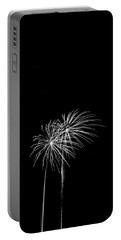 Firework Palm Trees Portable Battery Charger