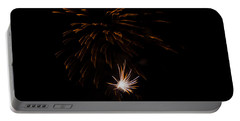 Portable Battery Charger featuring the photograph Fireworks 2 by Susan  McMenamin